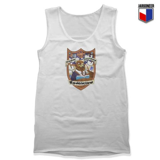 Ravenclaw Wisdom Learning Unisex Adult Tank Top Design