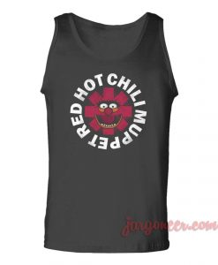 Red Hot Chili Muppet Parody Unisex Adult Tank Top