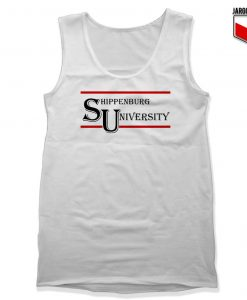 Shippenburg University Unisex Adult Tank Top Design