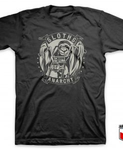 Cool Sloths Of Anarchy T Shirt Design