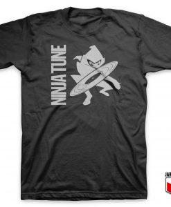 Cool Ninja Tune T Shirt Design