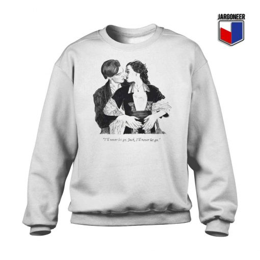 The Classic Titanic Jack And Rose Crewneck Sweatshirt