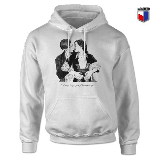 The Classic Titanic Jack And Rose Hoodie Design