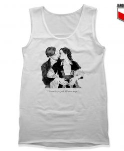 The Classic Titanic Jack And Rose Unisex Adult Tank Top Design