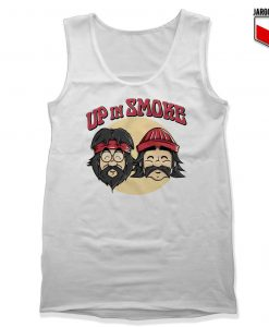 Up In Smoke Unisex Adult Tank Top Design