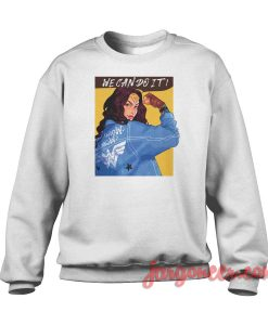 Wonder Woman We Can Do It Crewneck Sweatshirt