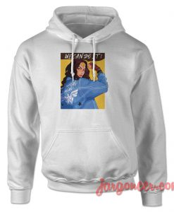 Wonder Woman We Can Do It Hoodie