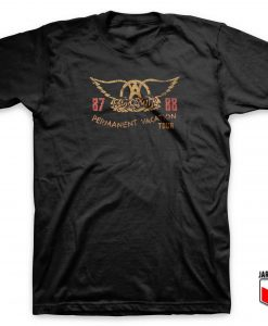 Cool Aerosmith Vacation Tour T Shirt Design
