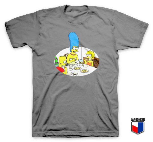 Cool Bart Simpsons Family T Shirt Design