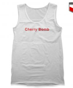 Cherry Bomb Unisex Adult Tank Top Design