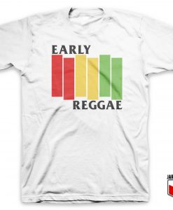 Cool Early Reggae Flag T Shirt