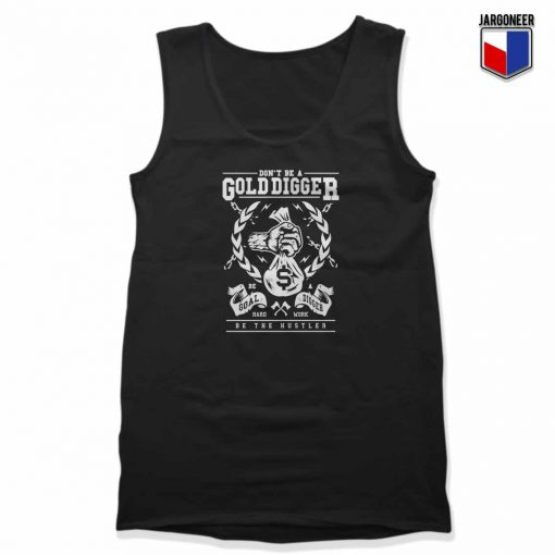Gold Digger Unisex Adult Tank Top Design