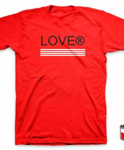 Cool Lover Stripe T Shirt Design