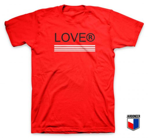 Cool Lover Stripe T Shirt Design