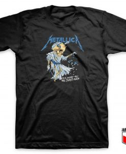Cool Metallica T Shirt Design