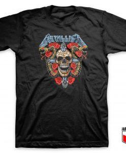 Cool Metallica Enter Sandman T Shirt Design