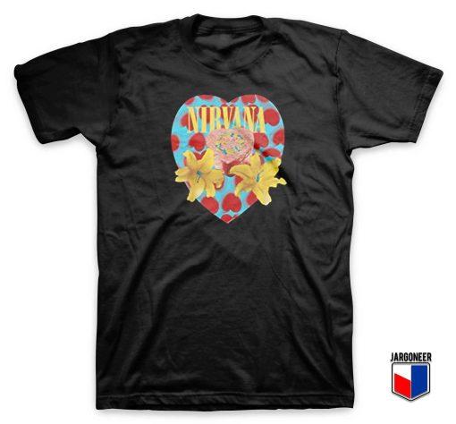 Cool Nirvana Heart Shaped Box T Shirt Design