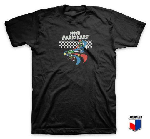 Cool Super Mario Kart T Shirt Design
