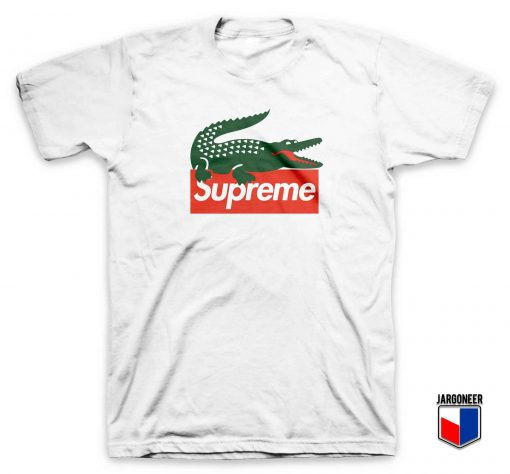Cool Supreme Crocodile T Shirt