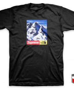 Cool Supreme X The North Face T Shirt
