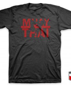 Cool Muay Thai T Shirt Design