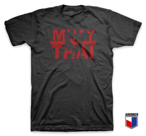 Cool Muay Thai T Shirt Design
