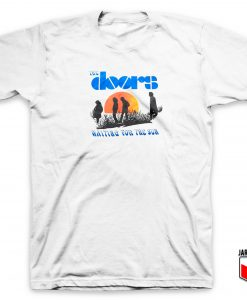 Cool The Doors Waiting For The Sun T Shirt Design