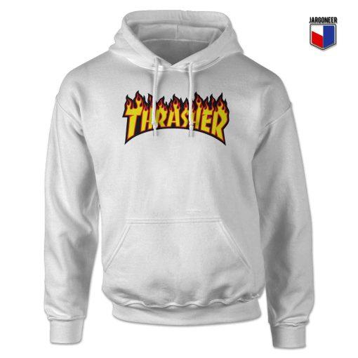 Thrasher Flame Logo Hoodie Design