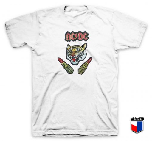 ACDC Tiger Lips T Shirt