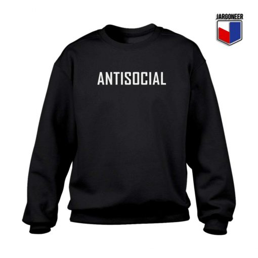 Antisocial Crewneck Sweatshirt