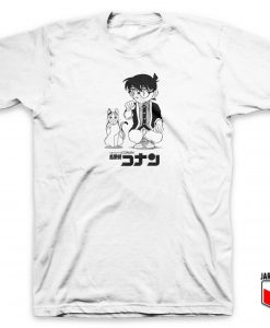 Detective Conan Lucky Cat T Shirt