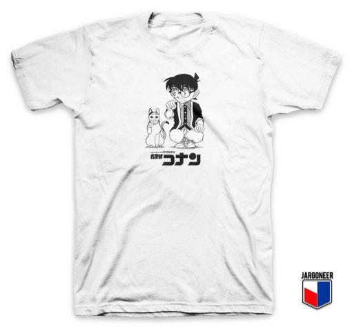 Detective Conan Lucky Cat T Shirt