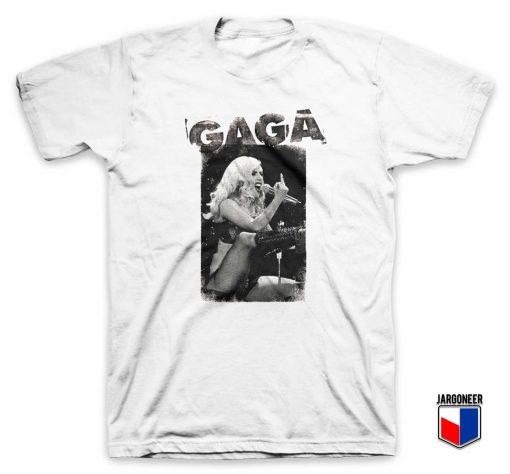 Gaga Middle Finger T Shirt