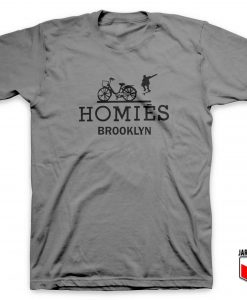 Homies Skate Brooklyn T Shirt