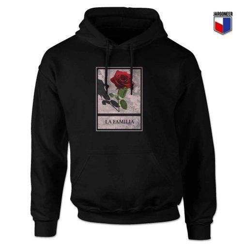 La Famillia Rose Hoodie Design