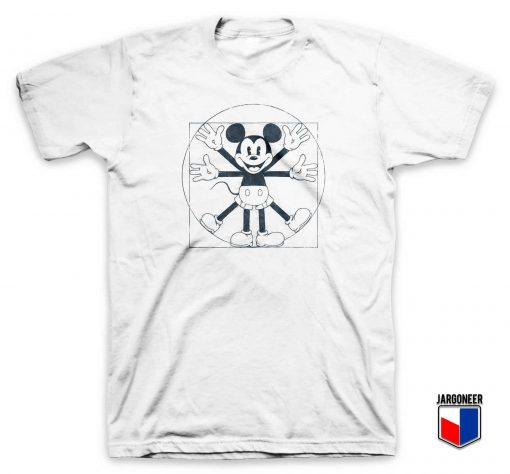 Mouse Vitruvian T Shirt