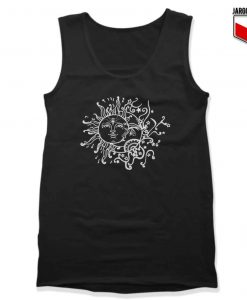 Sun Moon Unisex Adult Tank Top