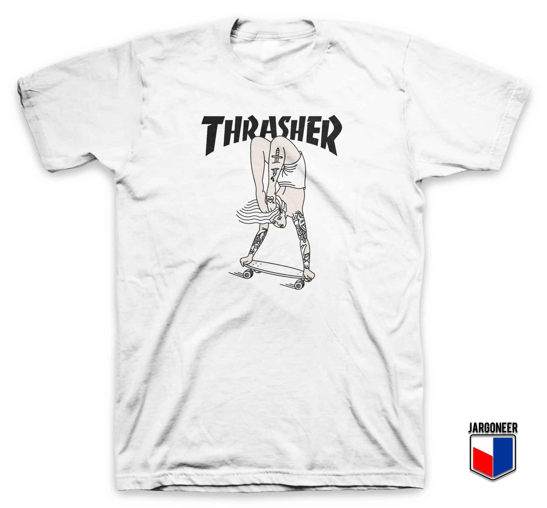 Thrasher Women On Wheels T Shirt