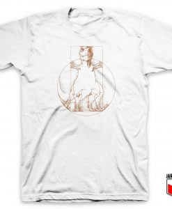 Vitruvian Saurus T Shirt
