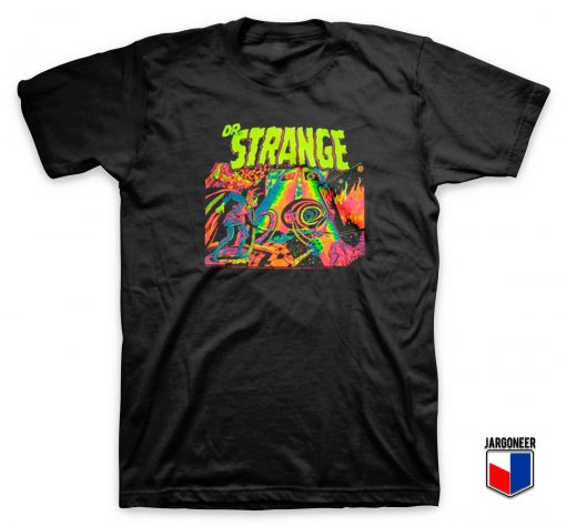 Dr Strange Colorful T Shirt