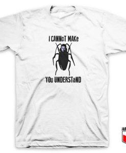 Franz Kafka Metamorphosis Insect T Shirt