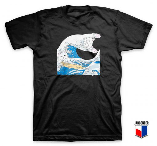Pussy The Great Wave T Shirt