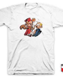 Spirou Et Fantasio T Shirt