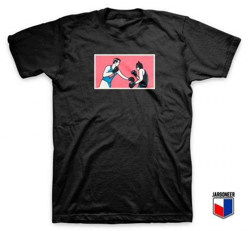 Superman Vs Batman Boxing T Shirt
