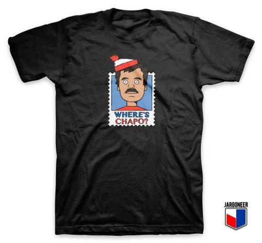 Where's Chapo Stamp T Shirt