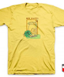 Bee Happy Jar T Shirt