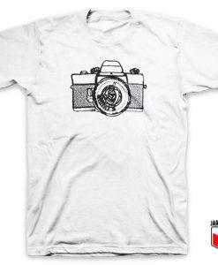 Camera Line Art T Shirt