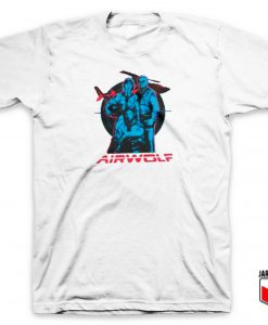 Cast Airwolf T Shirt