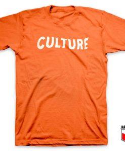 Culture Font T Shirt