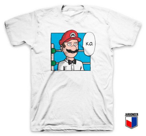 One Punch Mario T Shirt